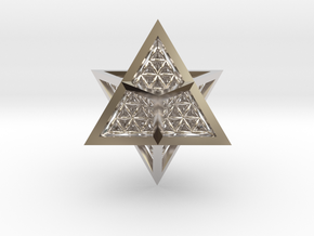 Super Star Tetrahedron (SST) in Platinum