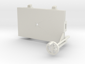 A-1-32-wagon-d-class-bogie-1a in White Natural Versatile Plastic