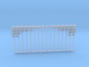 Rollenständer Einfach verschiedene Rollen 16 Stk. in Smoothest Fine Detail Plastic