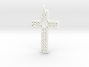 Criss Cross in White Processed Versatile Plastic