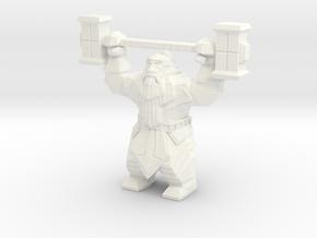 Dwarvon Paragon for Wargaming terrain in White Processed Versatile Plastic