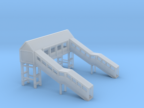 Footbridge 1:450 in Smooth Fine Detail Plastic