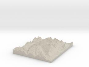 Model of Kay Creek in Sandstone