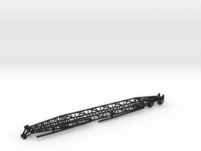 Wippspitze Liebherr LR1100 1/87 in Black Natural Versatile Plastic