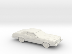 1/87 1974-76 Ford Elite in White Natural Versatile Plastic