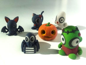 HALLOWEEN COLLECTION in Full Color Sandstone