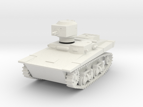 PV109A T37A Amphibious Tank (28mm) in White Natural Versatile Plastic