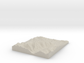 Model of 2nd Basin in Sandstone
