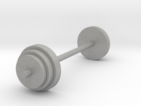 a Mini Traditional Weight Set Merged in Aluminum