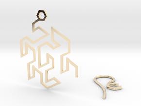 Gosper Earring in 14k Gold Plated