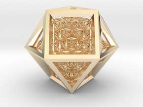 Super Vector Equilibrium in 14K Yellow Gold