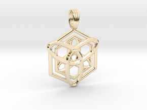 ATOMIC PULSE in 14K Yellow Gold