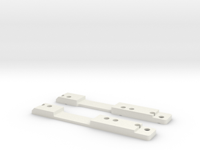 MiniZ F1 Lateral Links in White Natural Versatile Plastic
