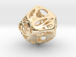 water-drop in 14K Yellow Gold