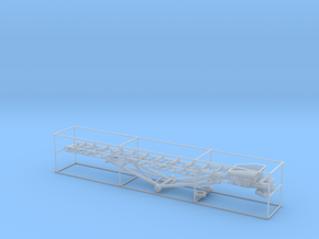 1/50th 36 foot material conveyor in Smooth Fine Detail Plastic