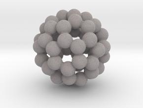 C60 (buckminsterfullerene) in Full Color Sandstone