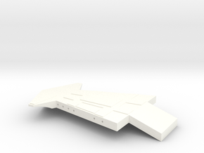 1/24th scale Wing for Hawk Right in White Processed Versatile Plastic