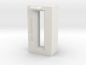 Hengstler Counter 7 Number Housing in White Natural Versatile Plastic
