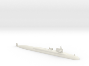 1/600 Lafayette Class Submarine (Waterline) in White Strong & Flexible