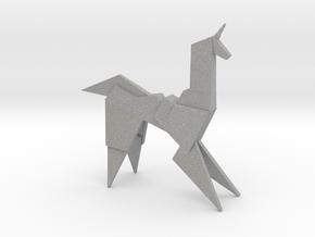 Gaff's Unicorn | Blade Runner Origami in Aluminum