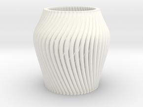 Lapicero in White Processed Versatile Plastic
