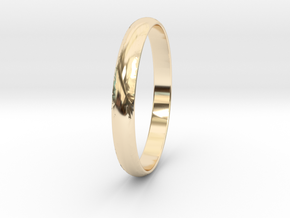 Ring Size 6 Design 3 in 14K Yellow Gold