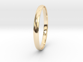 Ring Size 10 Design 3 in 14K Yellow Gold
