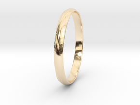 Ring Size 9.5 Design 4 in 14K Yellow Gold