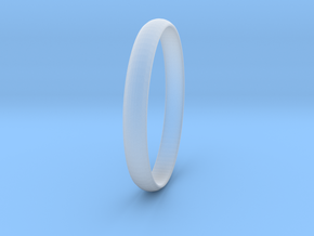 Ring Size 7 Design 4 in Smooth Fine Detail Plastic