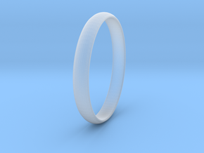 Ring Size 5.5 Design 4 in Smooth Fine Detail Plastic