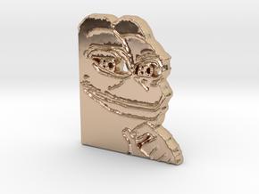 Pepe Pendant in 14k Rose Gold