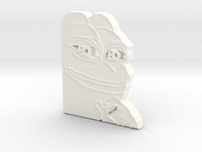 Pepe Pendant in White Processed Versatile Plastic