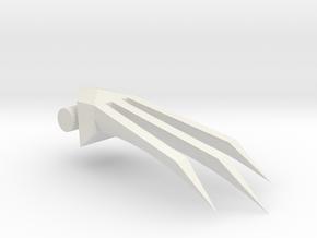 Claws in White Natural Versatile Plastic