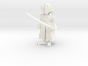 Zephiroth Low Poly in White Strong & Flexible Polished