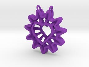 Expand your Reach Pendant in Purple Processed Versatile Plastic