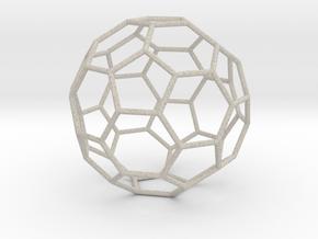 TruncatedIcosahedron 170mm in Natural Sandstone