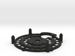 Magrav Stacker Plate Centre And Bottom in Black Strong & Flexible