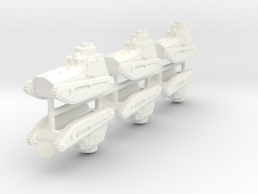 1/285 LK-II light tank (x6) in White Processed Versatile Plastic