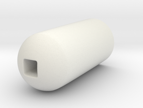 Bender Eye Zoom in White Natural Versatile Plastic
