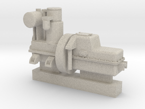 Orenstein Koppel RL1C Montania Engine and gearbox  in Natural Sandstone
