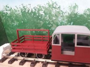 Victorian Railways Whitfield trolley trailer body  in White Strong & Flexible
