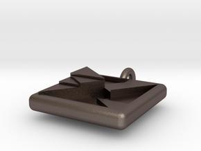 trigon varia pendant in Stainless Steel