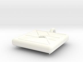 trigon varia pendant II in White Processed Versatile Plastic