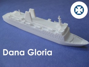 MS Dana Gloria (1:1200) in White Natural Versatile Plastic