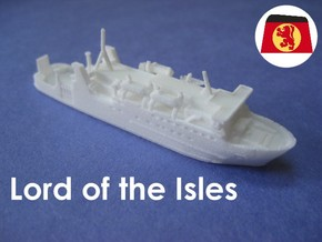 MV Lord of the Isles (1:1200) in White Strong & Flexible