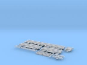 Schienentieflader ähnlich Goldhofer 6 achs in Smooth Fine Detail Plastic