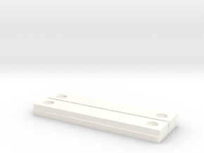 Stickvise - Low Profile Jaws - Pair in White Strong & Flexible Polished