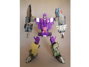 Combiner Wars and Energon male convert joint in Black Strong & Flexible