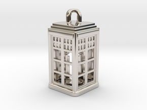 Tardis Lantern 2: Tritium (All Materials) in Platinum
