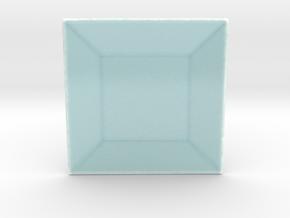 Celadon Selfie Square Dish in Gloss Celadon Green Porcelain
